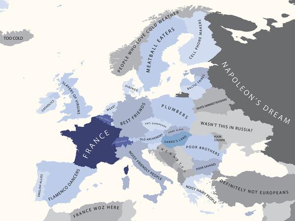 Europa oczami Francuzów