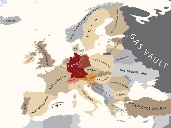 Europa oczami Niemców