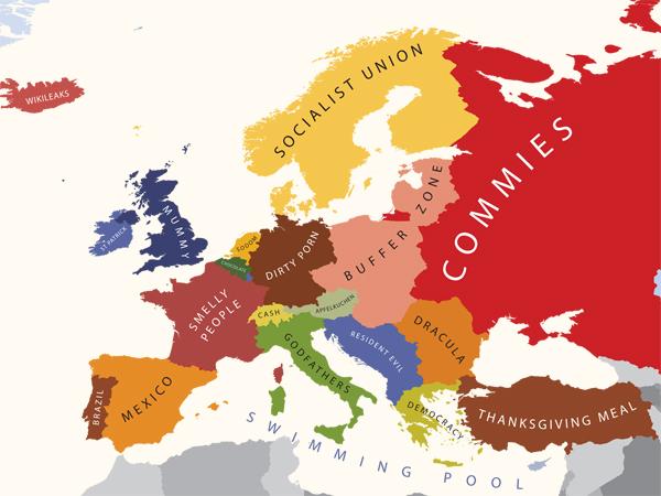 Europa oczami Amerykanów