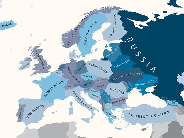 Europa oczami Rosjan