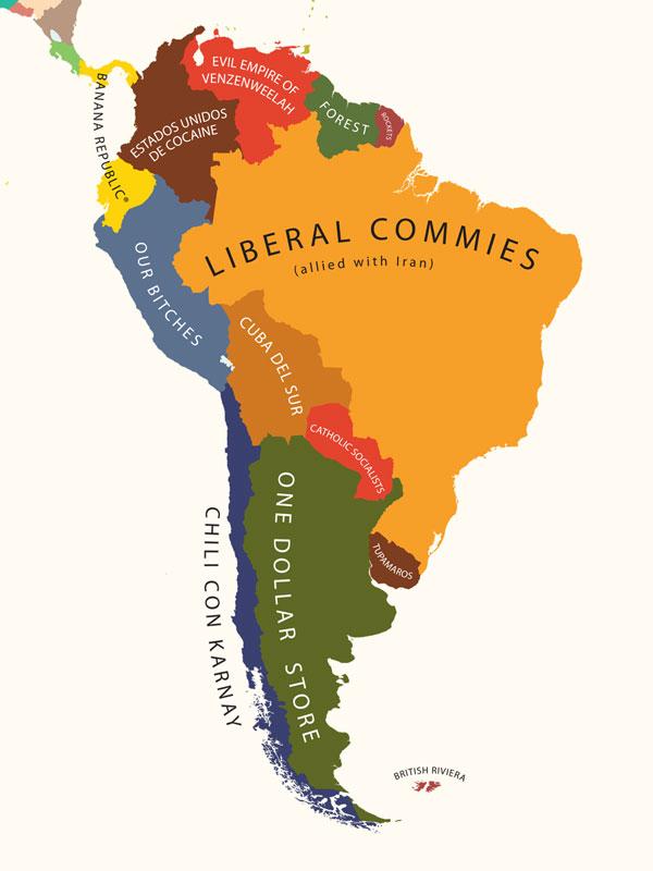 Ameryka Południowa oczami Amerykanów